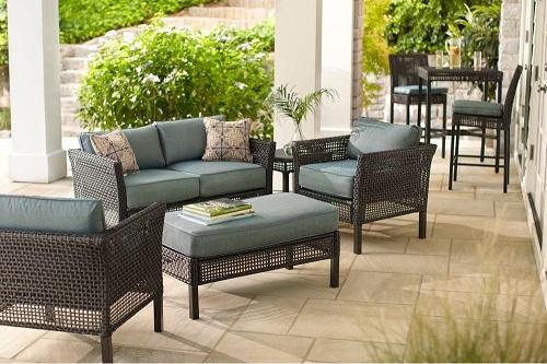 Hampton Bay Fenton Cushions to fit Home Depot Patio Furniture