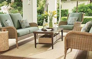 Hampton Bay Lemon Grove Outdoor Patio Home Depot Cushions