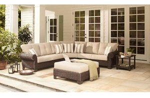 Hampton Bay Mill Valley Home Depot Patio Cushions