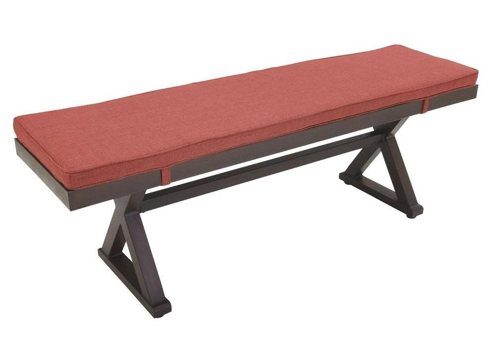 Hampton Bay Woodbury Bench Cushion