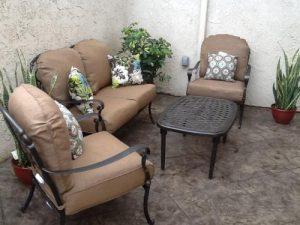 Hampton Bay Edington Club Chair Replacement Cushions
